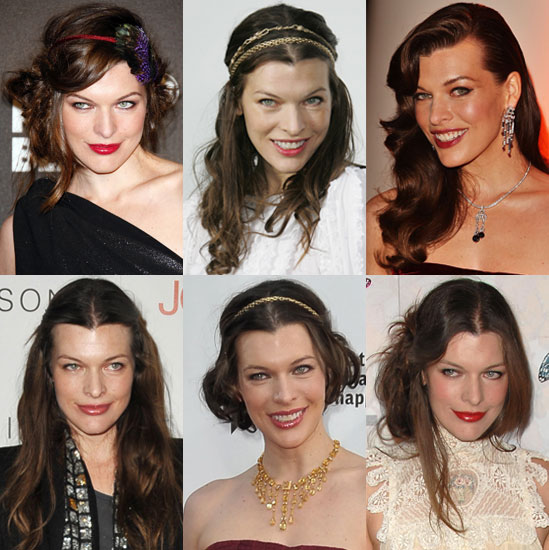 Pictures of Milla Jovovich's Ha...