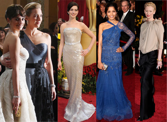went for dramatic darker gowns, like Angelina Jolie, Vanessa Hudgens,