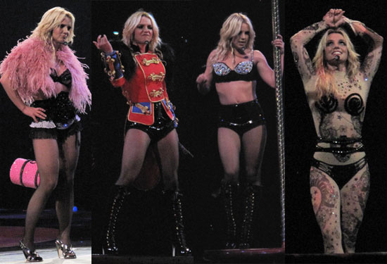 britney spears circus tour costumes. Britney#39;s Back With a Circus
