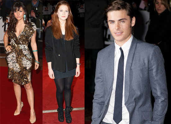 Photos Of Zac Efron, Bonnie Wright At The 17 Again UK Premiere In ...