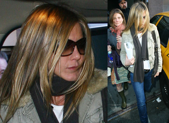 Photos of Jennifer Aniston Who Apparently Split With John