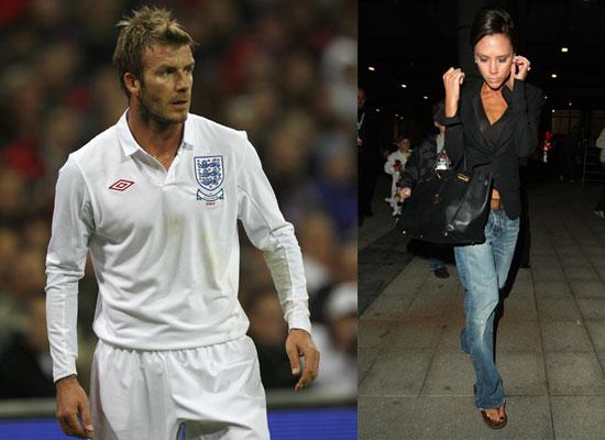 victoria beckham and david beckham. Victoria Beckham and David