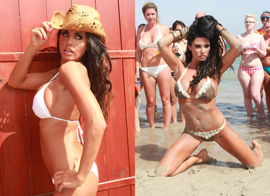 S Of Jordan Aka Katie Price On Calendar Shoot In Ibiza Bikini