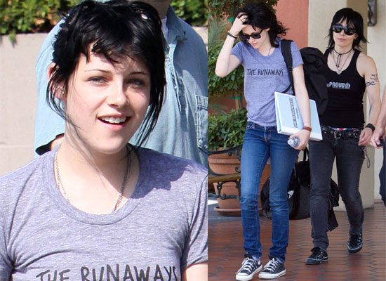 Truth be told, Kristen Stewart has Joan Jett's hair, but hair is the easiest