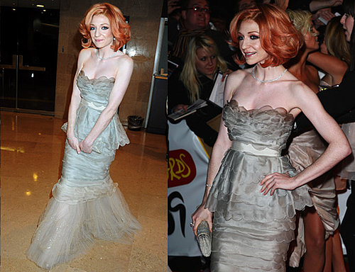 Nicola Roberts is the next member of Girls Aloud to hit the red carpet in