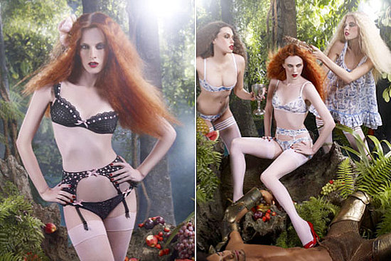 Karen Elson for Agent Provocateur