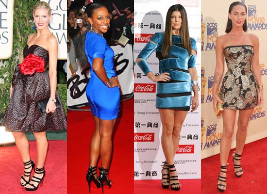 Photos of Heidi Klum, Alexandra Burke, Fergie and Megan ... Fergie Shoes