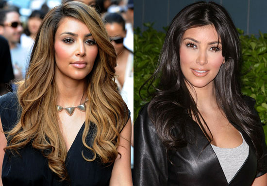 light brown hair color kim kardashian. kim kardashian hair.