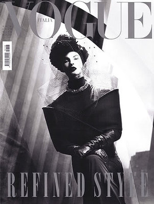 Linda Evangelista - Vogue Italy