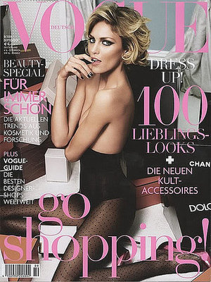 Anja Rubik - Vogue Germany