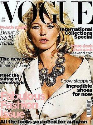 Kate Moss - Vogue UK