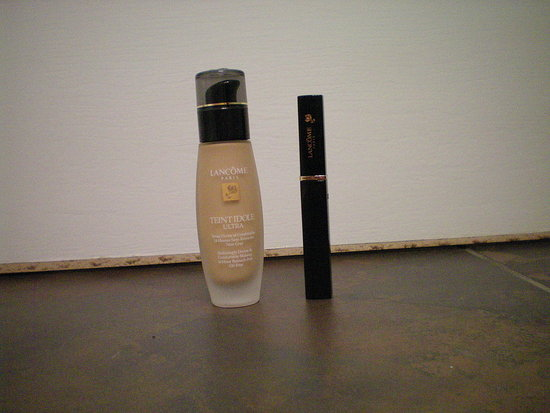 #3: (left) Lancome foundation and concealer