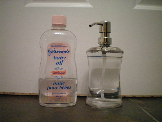 #1 Johnson&#039;s baby oil - hypoallergenic