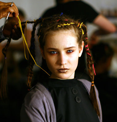 Photo of 2006 updo plaits hairstyle. 2006 updo plaits hairstyle