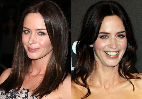The hairstyles of Emily blunt makes the persona amazing and also creates a