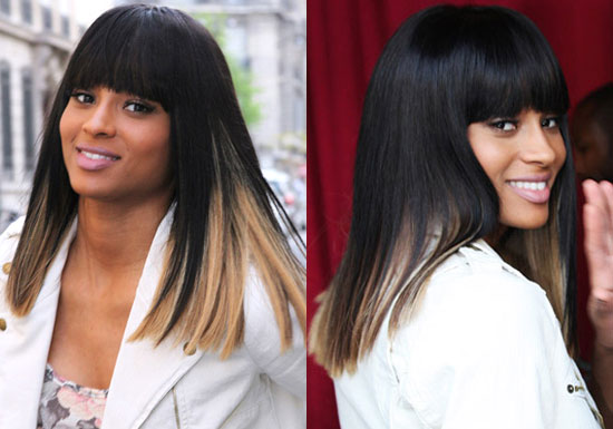 Hair Color Ideas for Black Hair; Blonde and Brown Hair Color Ideas;