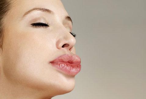 Collagen lip