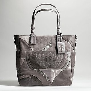 &quot;Tribeca&quot; logo &quot;collage&quot; tote