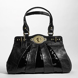 """""""Garnet"""" collection leather """"pieced"""" tote"""