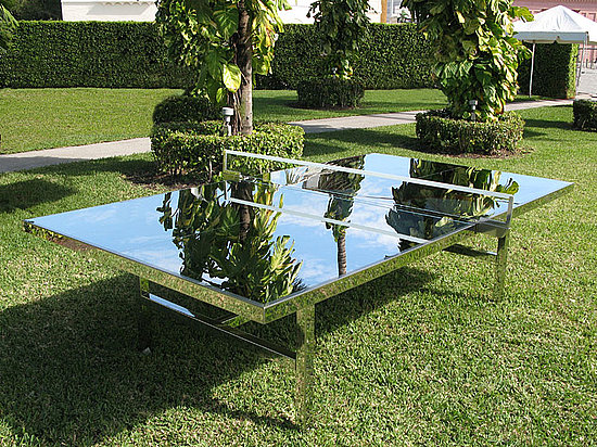 Share This Link Copy. Cool Idea: Mirrored Ping Pong Table · Obama Plans ...