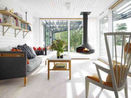 outstanding scandinavian home interior design   Get the Look: Scandinavian Vacation Home   POPSUGAR Home