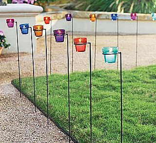 Tealight Glass Garden Stakes
