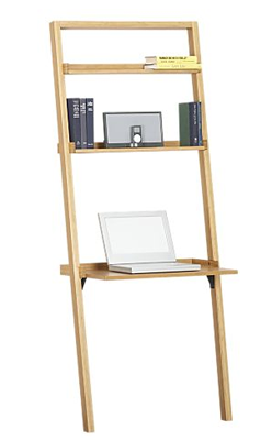 Steal Of The Day Crate Amp Barrel Sloane Leaning Desk