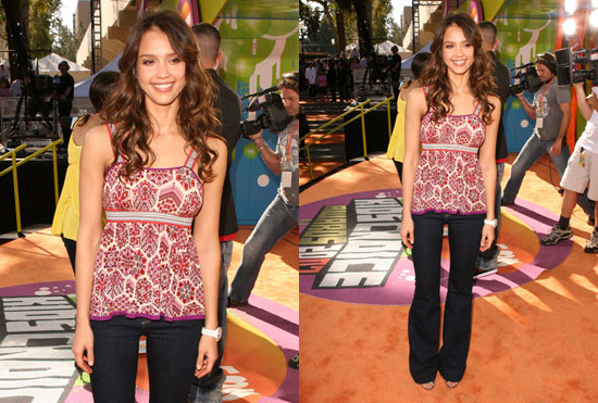 Kids' Choice Awards: Jessica Alba. Love It. Hate It. Undecided