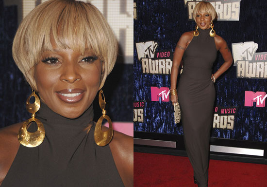 pics of mary j blige hair. Mary J. Blige has a slighly