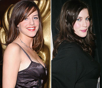 UK Actress Michelle Ryan and Liv Tyler
