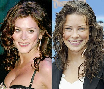 Anna Friel and Evangeline Lilly