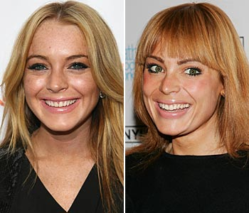 Lindsay Lohan and Yoanna House