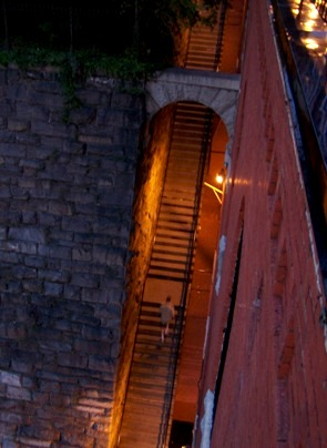 An aerial pic to show just how steep and creepy they are. (I did not take this picture, it came from about.com)