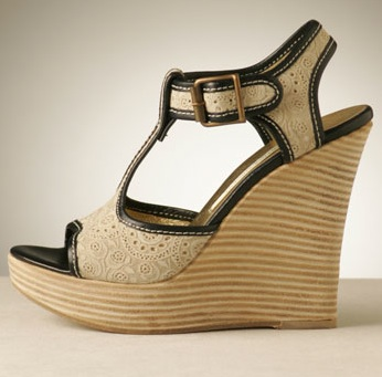 Wooden Wedge Heels | Tsaa Heel