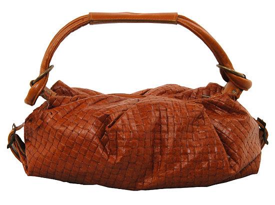 Плетеные кожаные сумки.