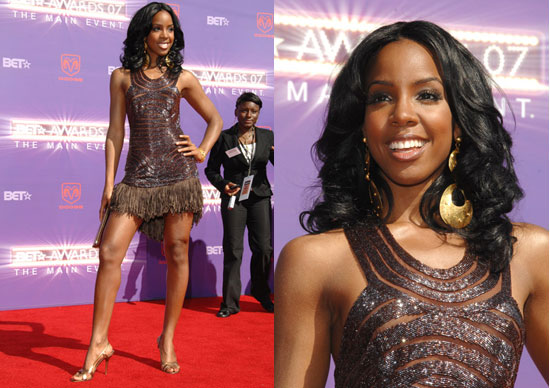 kelly rowland hair. BET Awards: Kelly Rowland
