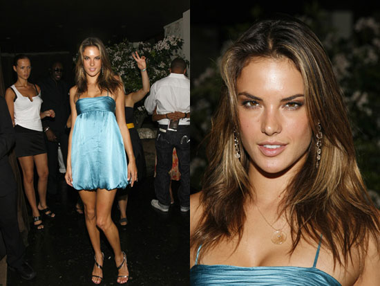 alessandra ambrosio dress. model Alessandra Ambrosio