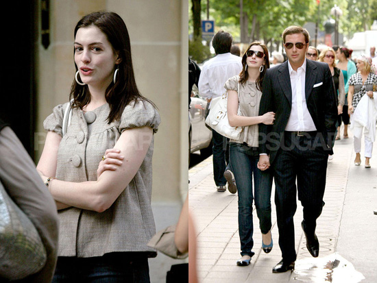 anne hathaway devil wears prada clothes