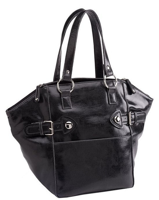 The Look For Less: Black Yves Saint Laurent Downtown Tote ...