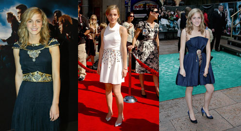 back to what we know to be true: Emma sporting all these Chanel outfits.