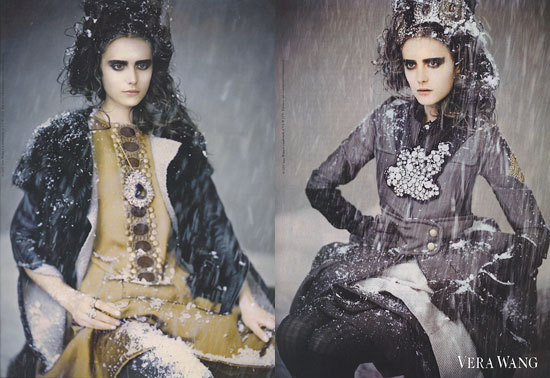 Fab Ad: Vera Wang Fall/Winter 2007  | FabSugar - Fashion & Shopping. :  shopping vera fall 2007