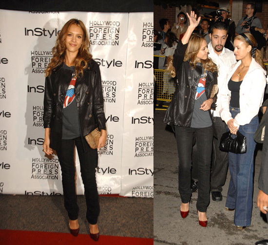 We love Jessica Alba's casual style — fun T-shirts, cool cardigans and great