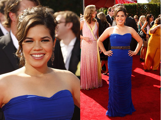 america ferrera wedding dress in our family wedding. tattoo America Ferrera and