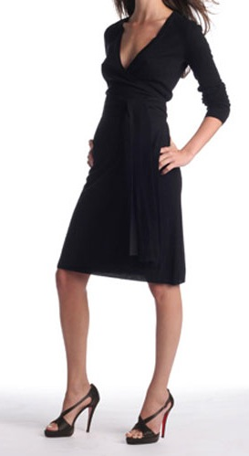 Black Dvf Wrap Dress this Diane von Furstenberg