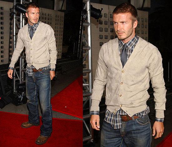 David Beckham Cool Style