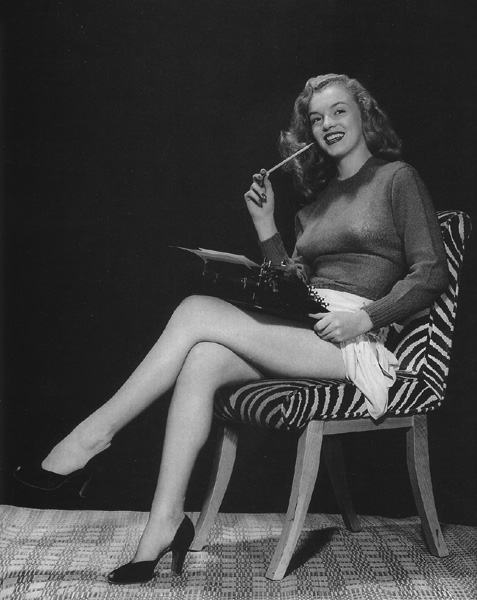 During Marilyn's screentest