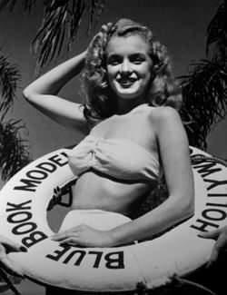 Norma Jean Dougherty at Blue Book