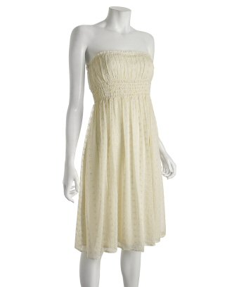 Cream Eyelet dress...Diane von Furstenberg