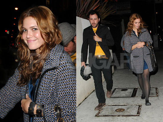 andy roddick and mandy moore. Last week Mandy was seen with