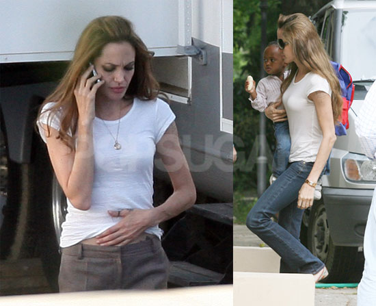 Anyways, i really like both these casual outfits. Angelina always seems to